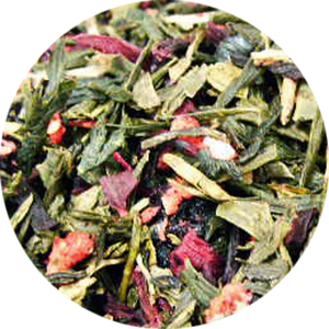 Organic Wild Berry Green from Tea District