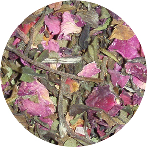 Organic Wild Rose White Tea from Tea District