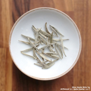 Silver Needle White Tea from driftwood tea