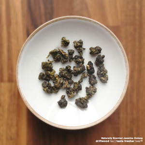 Premium Jasmine Oolong from driftwood tea