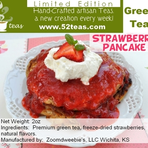 Strawberry Pancake Green Tea from 52teas