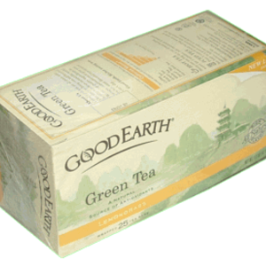 Green Tea Lemongrass from Good Earth Teas