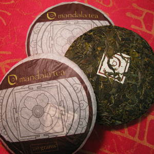 Mandala Tea 2011 Wild Mountain Green Raw Pu'er from Mandala Tea