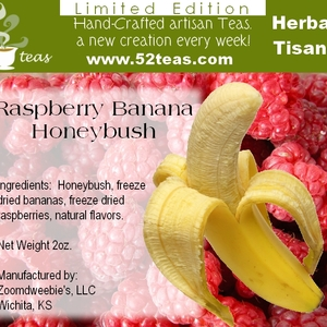 Raspberry Banana Honeybush from 52teas