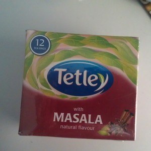 With Masala Natural Flavour from Tetley