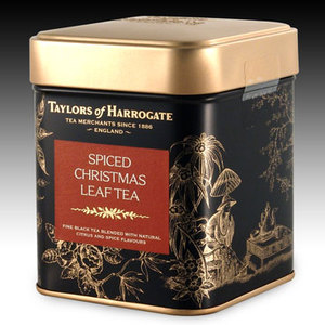 Spiced Christmas Leaf Tea from Taylors of Harrogate