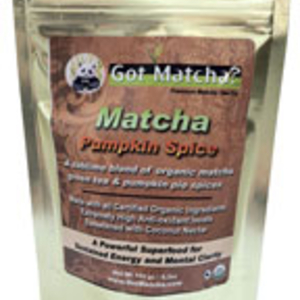 Matcha Pumpkin Spice from Got Matcha Premium Tea Co.