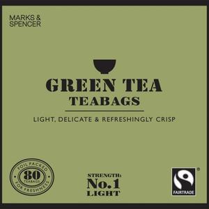 Fairtrade Green Tea teabags from Marks & Spencer Tea