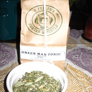 Green Man Tonic from B. Fuller's Mortar & Pestle