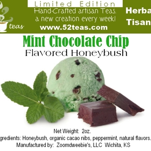 Mint Chocolate Chip Honeybush from 52teas
