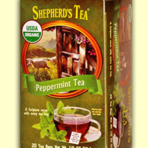 Organic Peppermint Tea from Shepherd&#x27;s Tea (AKA The Shepher&#x27;d Garden)