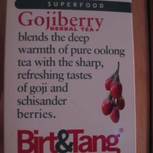 Gojiberry Herbal Tea from Birt & Tang