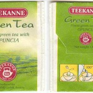 Green Tea Opuncia from Teekanne