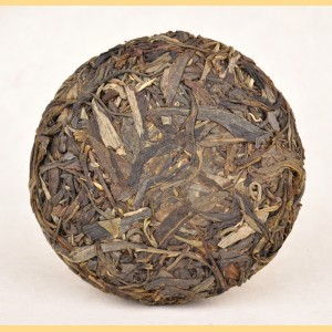 "2011 YUNNAN SOURCING ""MANG FEI"" AGED MAO CHA MINI RAW PU-ERH TEA CAKE from Yunnan Sourcing"