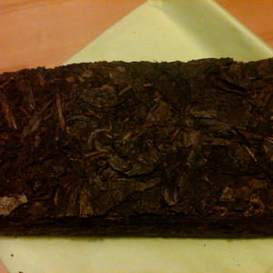 Fu Brick Dark Tea from TeaSource