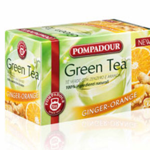 Green Tea Ginger Orange from Pompadour