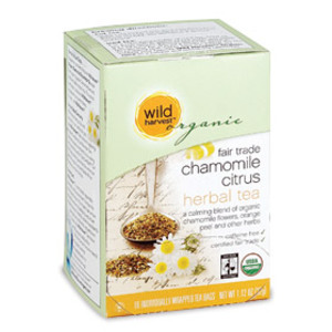 Fair Trade Chamomile Citrus from Wild Harvest Organic