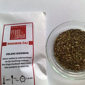 Green Rooibos from Franz & Sophie