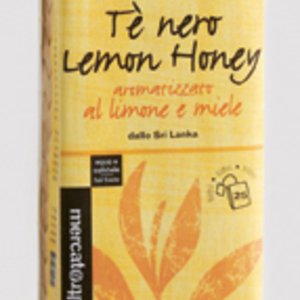 Tè Nero Lemon Honey from Altromercato