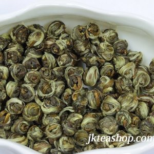 2011 Spring Premium Organic Jasmine Dragon Pearl from JK Tea Shop