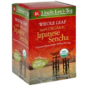 Organic Japanese Sencha from Uncle Lee's Tea