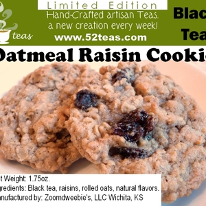 Oatmeal Raisin Cookie from 52teas