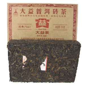 Menghai Classic Ripe Brick from Silk Road Teas