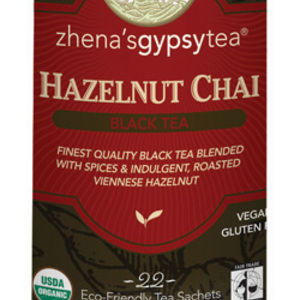 Hazelnut Chai from Zhena's Gypsy Tea