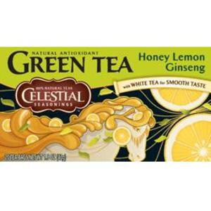 Honey Lemon Ginseng Green Tea from Celestial Seasonings