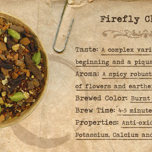 Firefly Chai from Mountain Rose Herbs