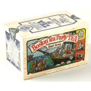 Boston Tea Party TEA- commemorative Earl Grey from Metropolitan Tea Company