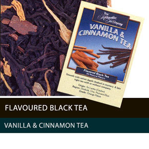 Vanilla & Cinnamon Naturally Flavoured Black Tea from Metropolitan Tea Company