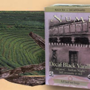 Indian Night Decaf Black Vanilla from Numi Organic Tea