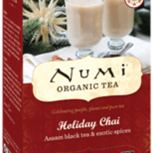 Holiday Chai from Numi Organic Tea