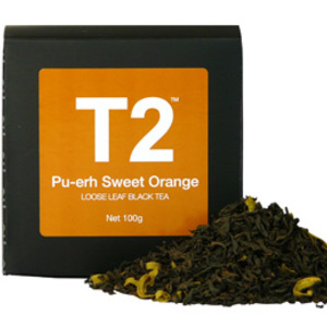 Puerh Sweet Orange from T2