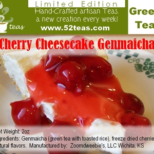 Cherry Cheesecake Genmaicha from 52teas