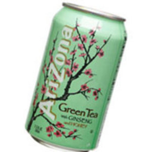 Green Tea with Ginseng and Honey from Arizona