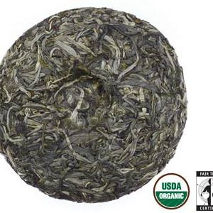 Sheng Beeng Pu-erh 125 gram Tea Cake, Vintage 2009, Organic Fair Trade from Rishi Tea