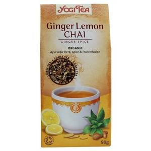Ginger and Lemon Chai - Ginger Spice - Organic from Yogi Tea