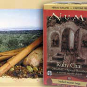 Ruby Chai Spiced Rooibos from Numi Organic Tea