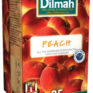 Ceylon Tea with Peach from Dilmah