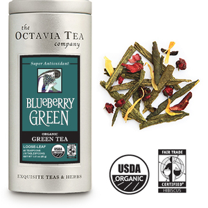 Blueberry Green from Octavia Tea