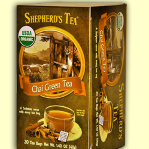 Chai Green Tea from Shepherd's Tea (AKA The Shepher'd Garden)