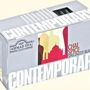 contemporary chai spice specialty from Ahmad Tea