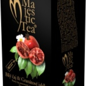 Majestic Tea - Bl aj &amp; Grantov jablko (white tea and pomegranate) from Biogena