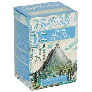 Imperial White Tea from Four O&#x27;Clock Organic