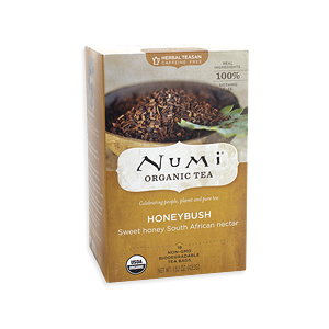 Honeybush from Numi Organic Tea