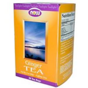 Twilight, Ginger Tea, Caffeine Free from Now Foods