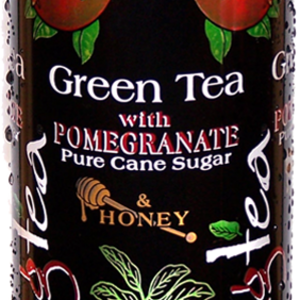 Green Tea with Pomegranate, Pure Cane Sugar and Honey from Xing Tea