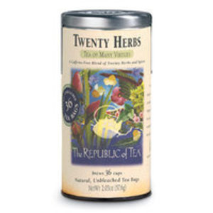Twenty Herbs from The Republic of Tea
